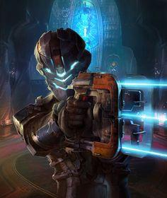 Isaac Firing Plasma Cutter - Dead Space 2 (PS3/Xbox 360/Windows)