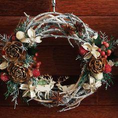 クリスマスリース 直径23~24cm【楽ギフ_包装】【楽ギフ_のし宛書】【楽天市場】