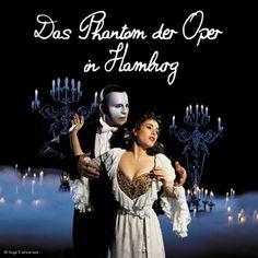 """Begegne dem Phantom der Oper live in Hamburg! 2 Nächte im 4* Hotel Ambassador inkl. 1x Ticket für das Musical """"Das Phantom der Oper""""  http://de.justaway.com/reise-angebot/staedtereisen-deutschland-hamburg-quality-hotel-ambassador-hamburg/"""