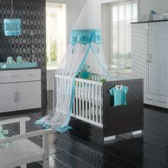 Chambre bébé garçon turquoise