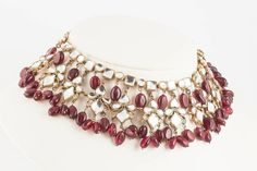 Moghul style necklace, Kenneth Jay Lane, 1960s