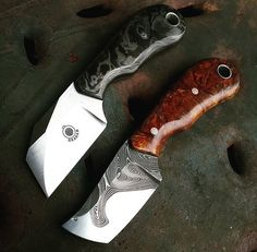 Apollymi uses a variety of weapons including hatchets Survival Tools, Survival Knife, Knives And Tools, Knives And Swords, Bushcraft, Skinning Knife, Cold Steel, Fixed Blade Knife, Tactical Knives