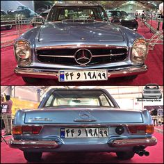 Mercedes Benz W113 Pagoda in #iran . Photo By:Admin . Tag your#friends . @mashin.classic . . #ماشين#كلاسيك#مرسدس#بنز#پاگودا#ماشينباز…