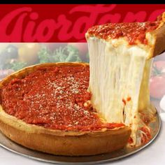 Giordanos Pizza in Chicago! Best pizza on the planet, wish I had the recipe!
