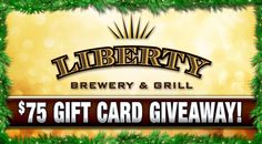 Today only! Enter for your chance to win a $75 Gift Card to Liberty Steakhouse in High Point! This contest will only be open for entries until 11:59 p.m. on Tuesday, December 9th, 2014. Two (2) luc...