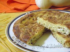 Frittata di Pasta La Frittata di Pasta calabrese si prepara solitamente durante il periodo di carnevale, ma a casa mia ...