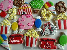Assorted Circus/Carnival Cookies - Flour De Lis