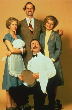 Fawlty Towers- Best old school British show ever! Manuel rocks!!!!!!(: