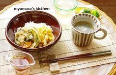 ×おうちでお菓子屋さん× http://s.ameblo.jp/myumaco ブログでレシピ公開中! - 13件のもぐもぐ - 天丼 by myumaco