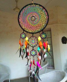 Hippie artistic hippie dreamcatcher crafts