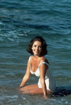 Elizabeth Taylor.. I once saw her from about 20 feet away at the Palm Beach Int'l airport in FL...her eyes were an incredible shade of purple-blue...unforgetable.