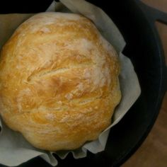 Dutch Oven Bread - The bread turned out great. The hardest part was folding it as the dough is quite sticky. I will be making it again.