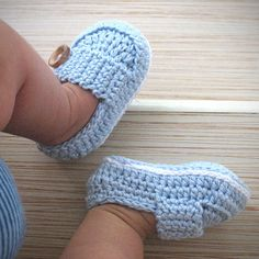 Baby Booties Marcus  Size 3 in Blue by saplanetoriginals on Etsy, $23.80