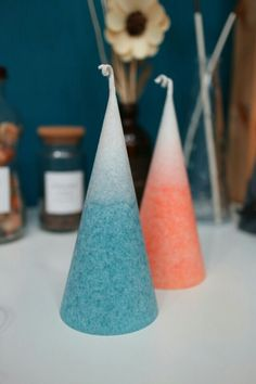 Handmade candle  얼음결정캔들
