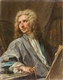 Jean Restout - Portrait de l'architecte Pierre de... on MutualArt.com