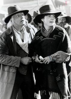 Doc and Marty are the best time traveling friends ever. Why? Simply this; time can't separate them. I loved, especially in the first movie, how certain Marty was to not let Doc die. They're amazing in any time and situation, so yep, I cried a lot at the end of Back to the Future III. *Back to the Future Series*