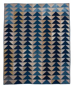 Flying Geese Quilt, Folk Fibers Co.