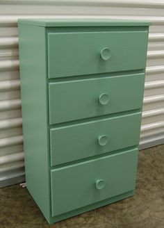 This small four drawer dresser is the perfect size for a night stand. It provides ample storage but is small in size to fit in tight spaces. It has been updated with fresh paint. The stand is 27 Tall x 15 Wide x 11 Deep Dresser Drawers, Country Chic, Sisters, Buy And Sell, Boutique, Storage, Stuff To Buy, Etsy, Home Decor