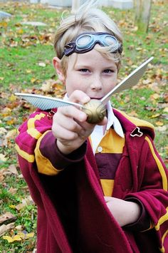 Harry Potter costumes.  I totally want to be on the quidditch team.