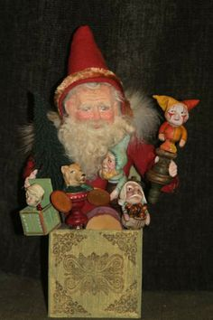 Another Jack in the box Santa. 2014  DeCamp