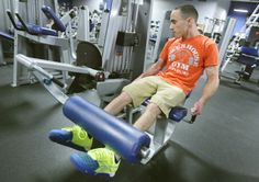 Dakota Vincent, who has cerebral palsy, will soon open his own business as a certified fitness trainer.