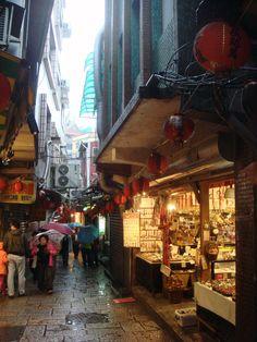 Street shopping in Taiwan