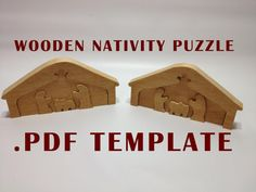 Do you want to make your own Manger Scene Wooden Puzzle like I sell? If you have a computer printer, a scroll saw and some nice pieces of wood,