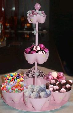 DIY Plastic Bottle Candy Stand