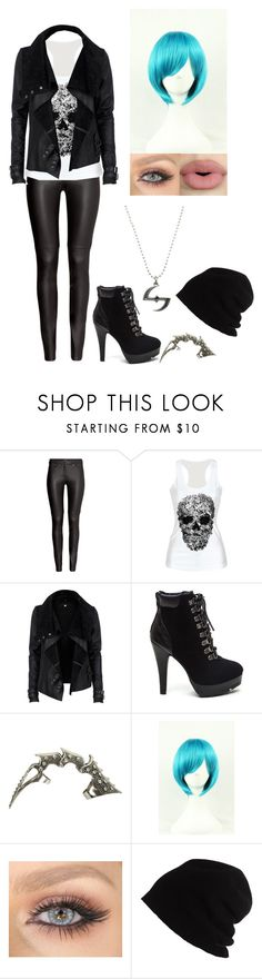 """Bez tytułu #403"" by mademoiselle-red on Polyvore featuring moda, H&M, River Island, Wet Seal, WithChic, Sephora Collection i SCHA"
