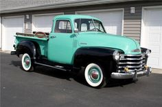 1953 Chevrolet 3100 Maintenance/restoration of old/vintage vehicles: the material for new cogs/casters/gears/pads could be cast polyamide which I (Cast polyamide) can produce. My contact: tatjana.alic@windowslive.com