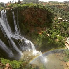 Go off the beaten path and you'll find the stunning Ouzoud Falls in Morocco like W. Beger did #wildcatsabroad #morocco #ouzoudfalls