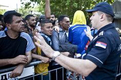 A menekültek az Origóval üzentek a kormánynak - Cikk az Origon!  Fotó: Dudás Szabolcs - Origo
