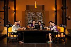 Mantra Samui Resort: Mantra reception Team