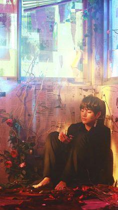 Taehyung in BTS Singularity Namjoon, Bts Taehyung, Bts Selca, Bts Bangtan Boy, Bts Boys, Bts Lockscreen, K Pop, Daegu, Foto Bts