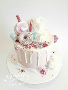Beautiful pastel cake