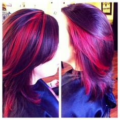 Only red instead of pink. Liking the cut too