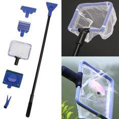 Small Gravel Cleaner Brushes Attractive Appearance Kind-Hearted Marina Aquarium Cleaning Kit Algae Scrubber