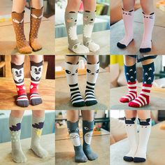 297aae54f9e For Age 0-6 Baby Kids Toddlers Girls Knee High Socks Tights Leg Warmer  Stockings