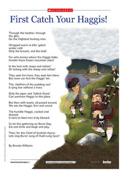 Some phrases in scottish gaelic common greetings at the table adorable little haggis poem for burns night m4hsunfo