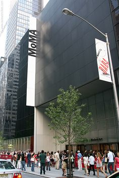 NYC. Manhattan. Museum of Modern Art