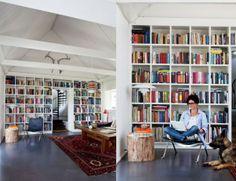 contemporary- private library