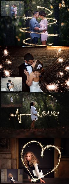 Send your client photos off with a spark with the Sparkler & Shine – Overlay…