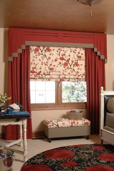 Custom Window Treatments Orlando and Pics of Different Types Of Window Treatment Styles. Diy Window Blinds, Window Drapes, Curtains With Blinds, Window Coverings, Valances, Window Treatments Living Room, Custom Window Treatments, Living Room Windows, Asian Inspired Bedroom