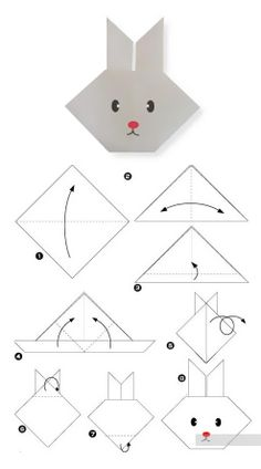 Design your own decorative products with origami patterns - Kimberly Joh . Design your own decorative products with origami patterns – Kimberly Johansen Hart – Origami Design, Instruções Origami, Origami Simple, Origami Dragon, Origami Folding, Bunny Origami, Easy Origami For Kids, Paper Folding, Easy Oragami