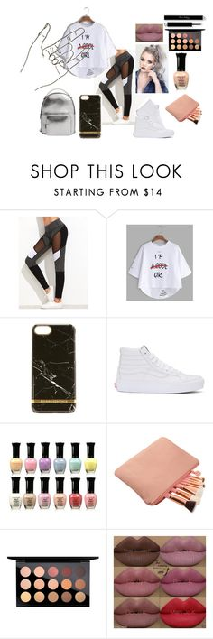 """""""Untitled #171"""" by lollaskye on Polyvore featuring Richmond & Finch, Vans, MAC Cosmetics, Kylie Cosmetics and MANGO"""