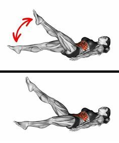 10 Simple Moves to Get a Tiny Waist and a Flat Stomach Abdominal Muscles, Thin Waist, Small Waist, Rectus Abdominis Muscle, Female Fitness Transformation, Reverse Crunches, Belly Fat Workout, Muscular, Flat Abs