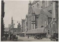 Grote Kerk aan de Oude Groenmarkt. 1930