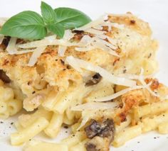 The Chew: Jewel & Mario Batali Truffled Mac N' Cheese Recipe