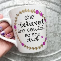 She Believed She Cou