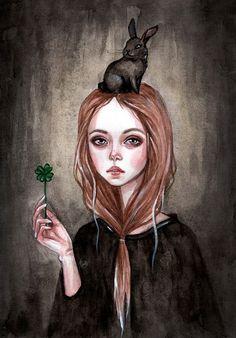 BlackFurya on DeviantArt   Memories of the Black Rabbit